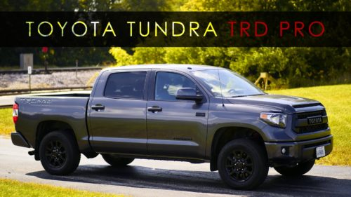5 Things you need to know about the 2017 Toyota Tundra TRD Pro