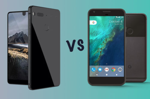 Essential Phone vs Pixel XL vs Pixel: How does the newbie compare?