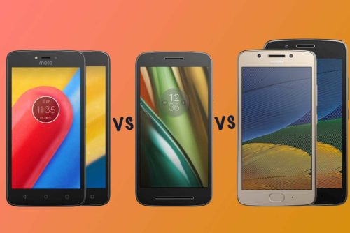 Motorola Moto C vs Moto E3 vs Moto G5: Which budget Moto phone is right for you?