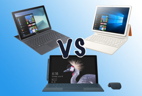 Surface Pro vs Huawei MateBook E vs Samsung Galaxy Book: What you need to know