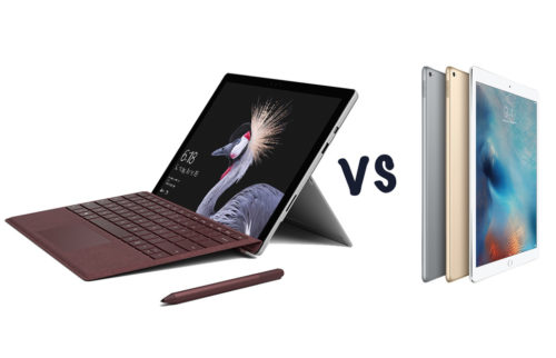 Microsoft Surface Pro (2017) vs Apple iPad Pro 12.9: What's the difference?
