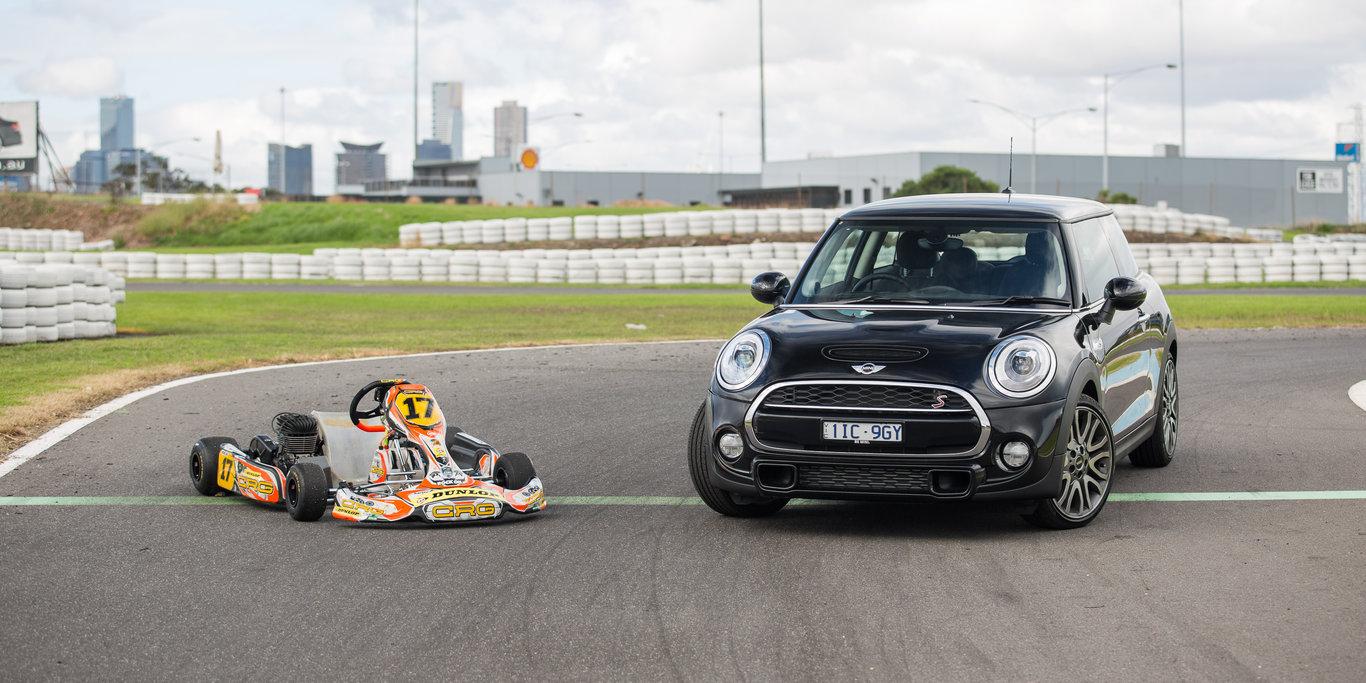 Mini Cooper S v CRG Gemstar go-kart | GearOpen