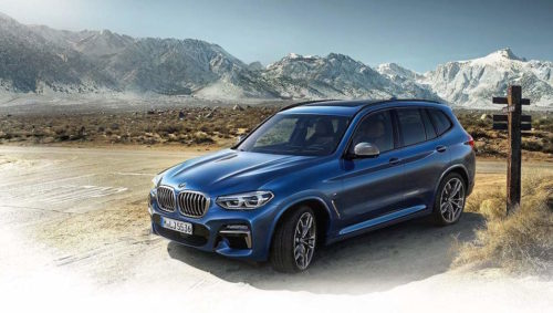 2018 BMW X3: first images leak ahead of reveal