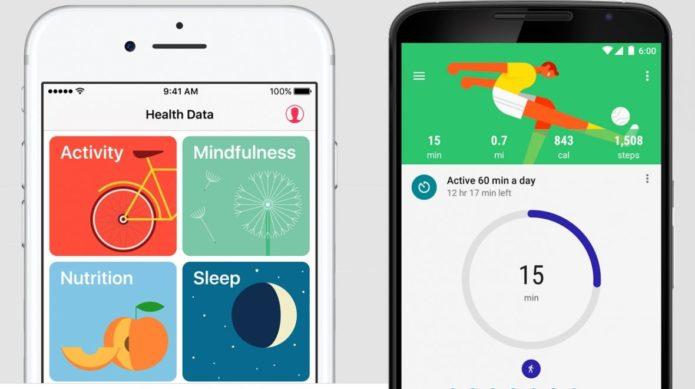 Google Fit v Apple Health - UPDATE 2017