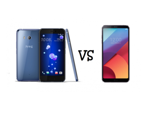 HTC U11 vs LG G6 (Smartphone Showdown): What sets the HTC U11 apart from the LG G6?