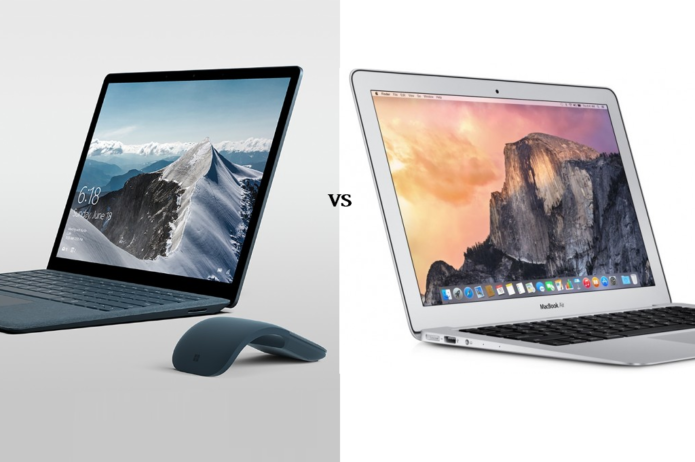 Surface Laptop vs MacBook Air: It's Not Even Close