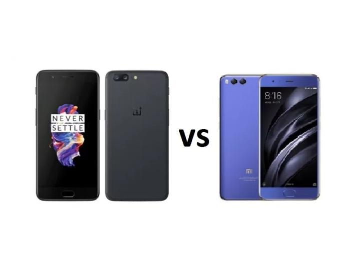 Xiaomi Mi 6 Vs OnePlus 5: Here's The Complete Comparison