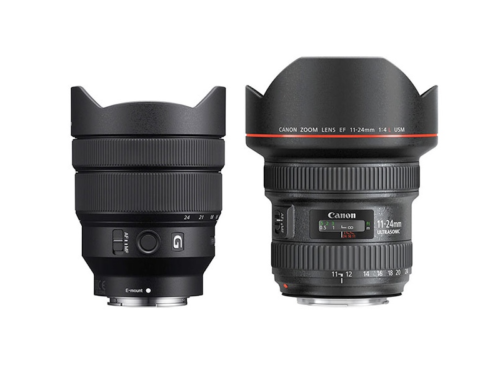 Sony FE 12-24mm f/4 G vs Canon EF 11-24mm f/4L Comparison