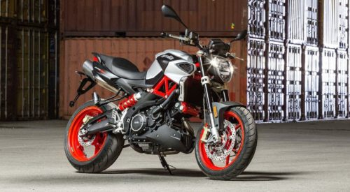 2017 Aprilia Shiver 900 Review