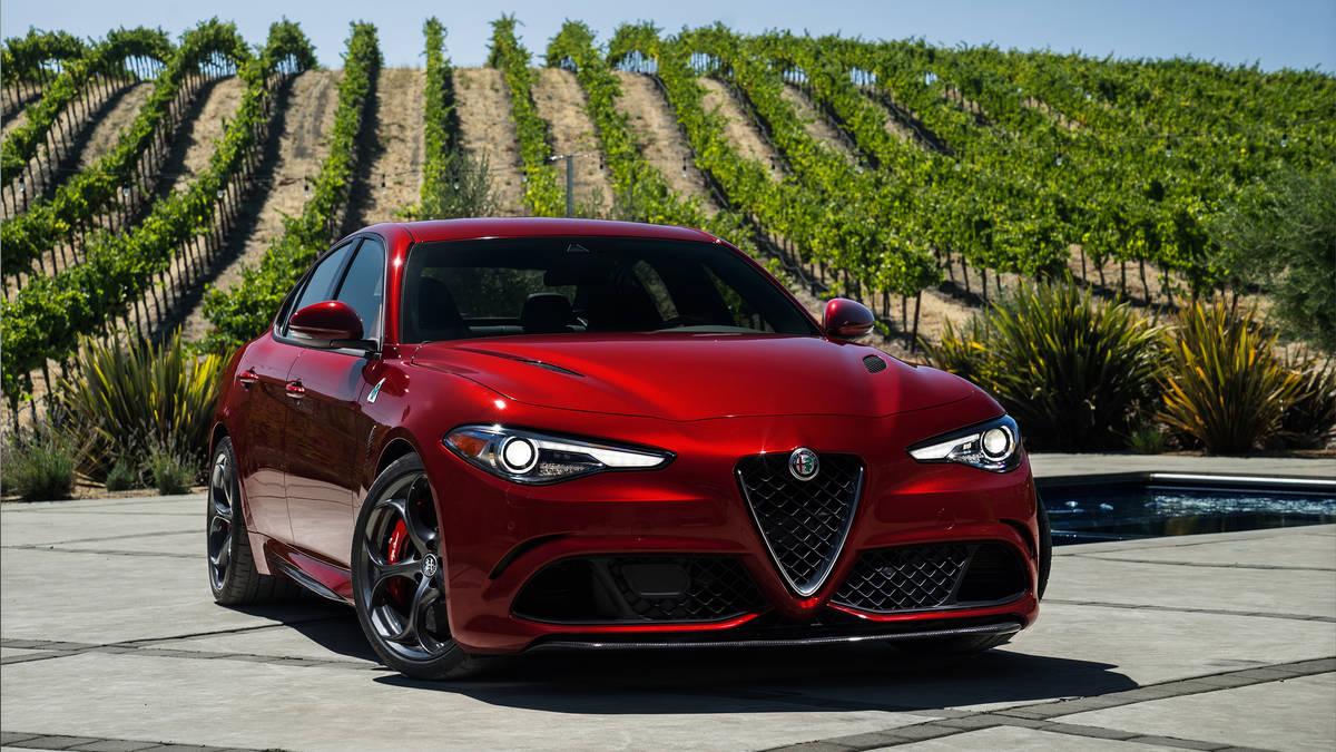 2017 Alfa Romeo Giulia Quadrifoglio Review: Nothing Exceeds Like Excess |  GearOpen