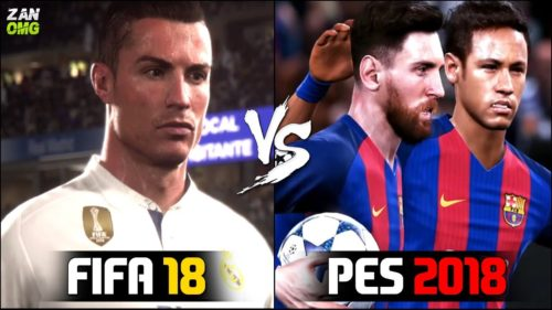 FIFA 18 vs PES 2018: What's new?