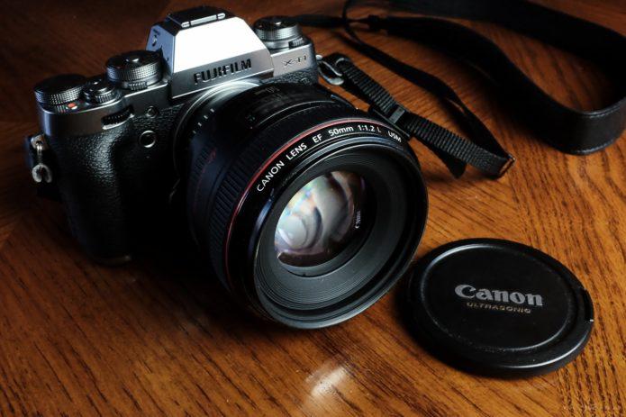 Fuji 50mm f/2 vs. 56mm f/1.2