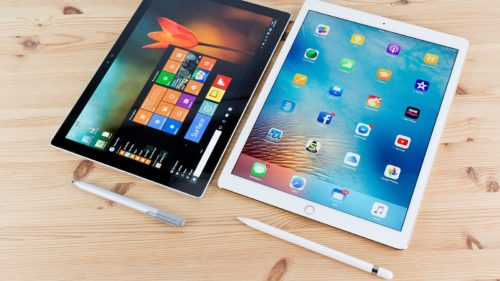 Surface Pro 2017 vs iPad Pro with iOS 11 : Productivity Showdown