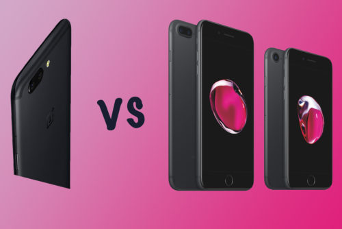 OnePlus 5 vs Apple iPhone 7 vs iPhone 7 Plus: What's the rumoured difference?