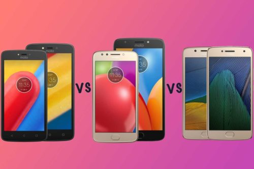 Motorola Moto C vs Moto E4 vs Moto G5: Which budget Moto phone is right for you?