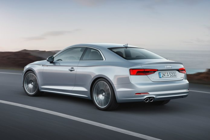New Audi A5 Coupe vs new Mercedes E-Class Coupe