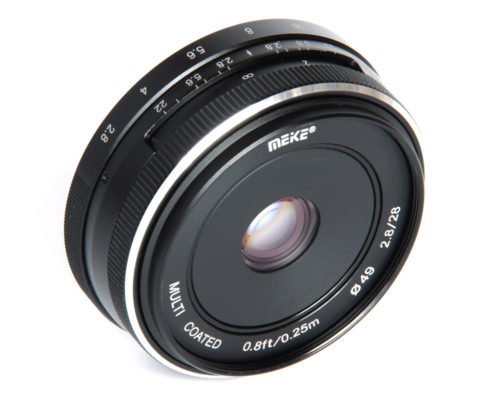 Meike 28mm f/2.8 Lens Review