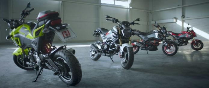 2016 Honda Msx 125 Grom Motorcycle Bike Review