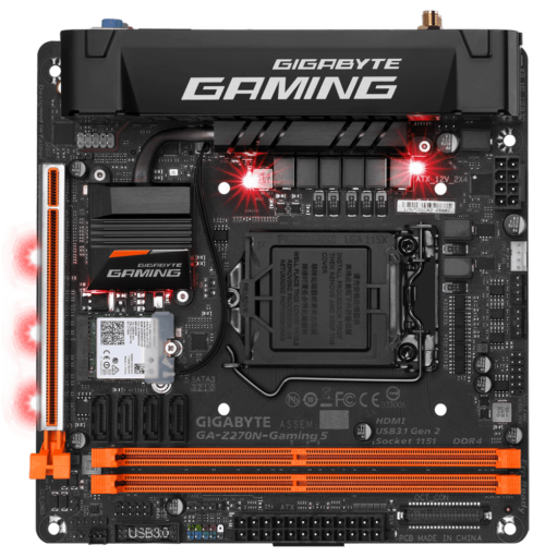 Gigabyte GA-Z270N-Gaming 5 review