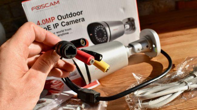 how to set up foscam audio
