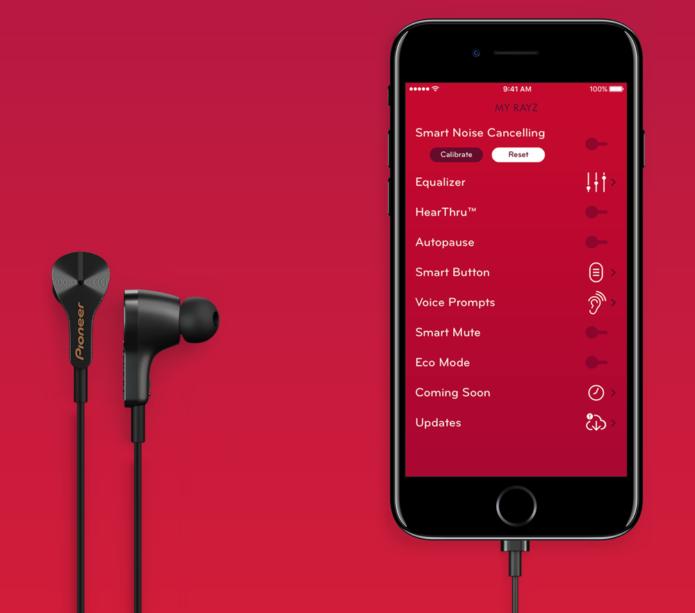Pioneer-Rayz-Plus-iPhone-app