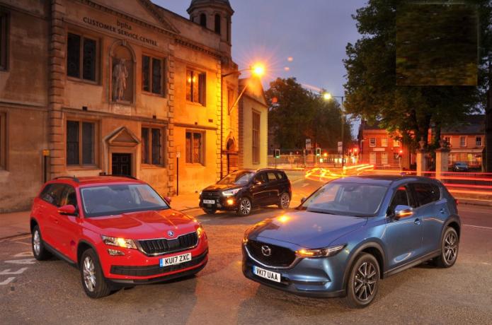 New Mazda CX-5 & Ford Kuga vs Skoda Kodiaq Comparison