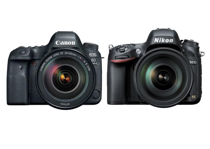 Canon 6D Mark II vs Nikon D610 – Comparison