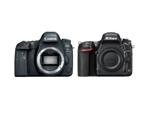 Canon 6D Mark II vs Nikon D750 Specs Comparison