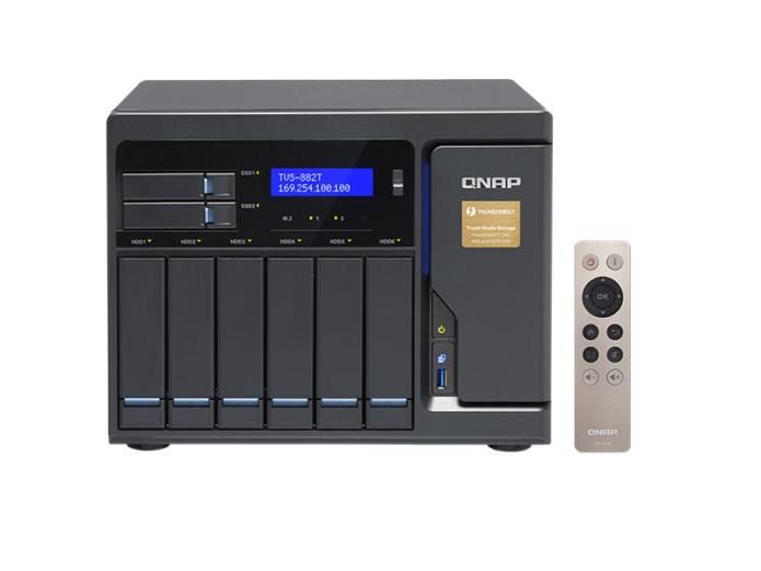 QNAP TVS-882T Review