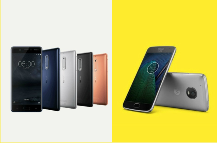 Nokia 5 vs Moto G5: Which mid-range mobile is best for me?
