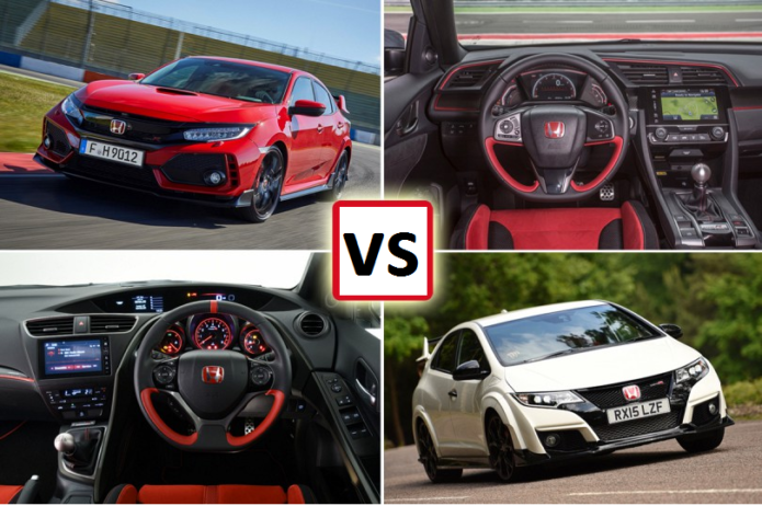 Honda Civic Type R: new vs old compared