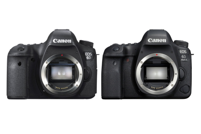 Canon EOS 6D Vs Canon EOS 6D Mark II Comparison