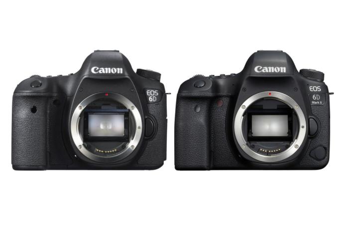 Canon EOS 6D Vs Canon EOS 6D Mark II Comparison