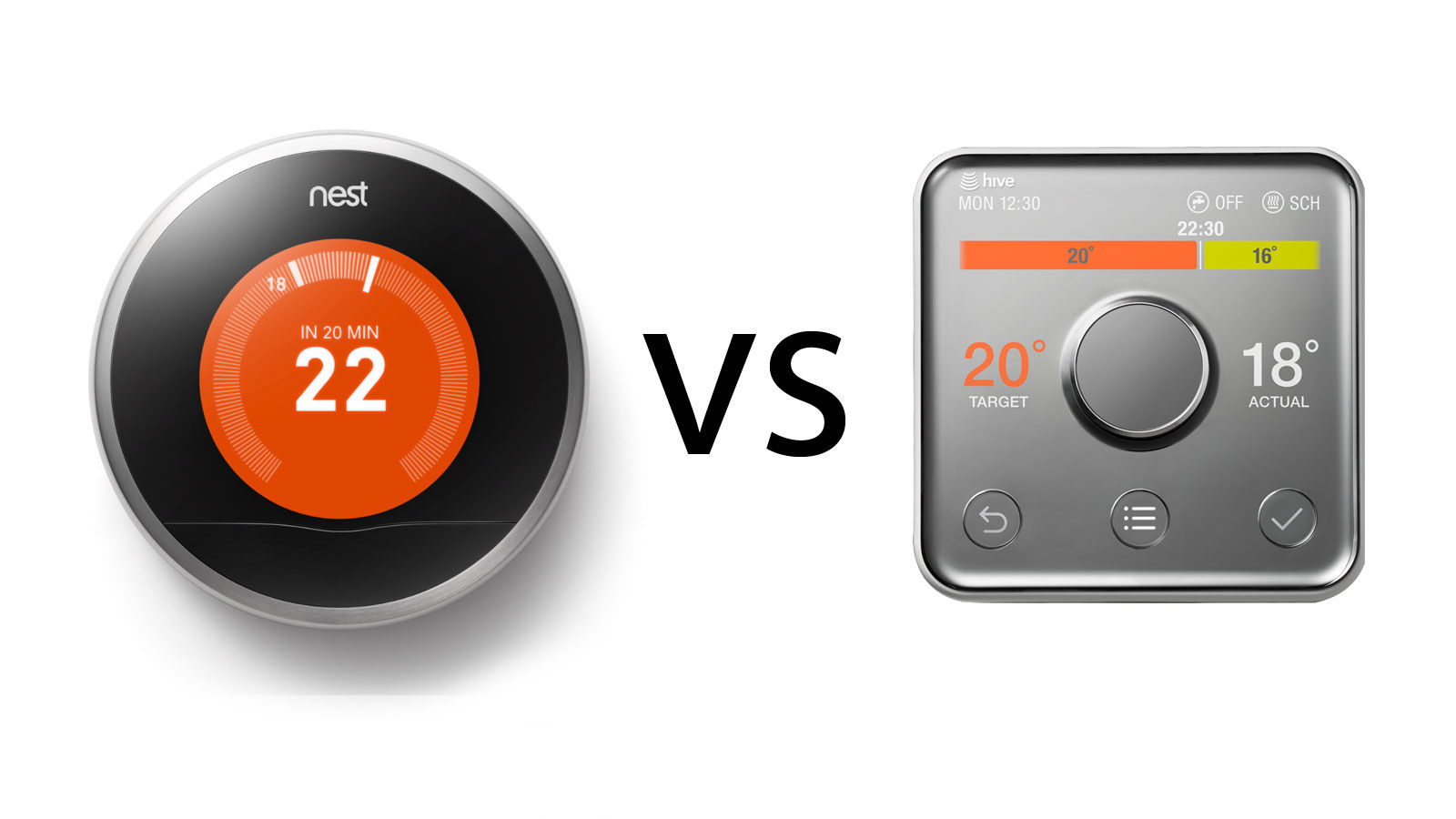 Nest vs hive which is the best smart thermostat gearopen - Nest thermostat stylish home temperature control ...