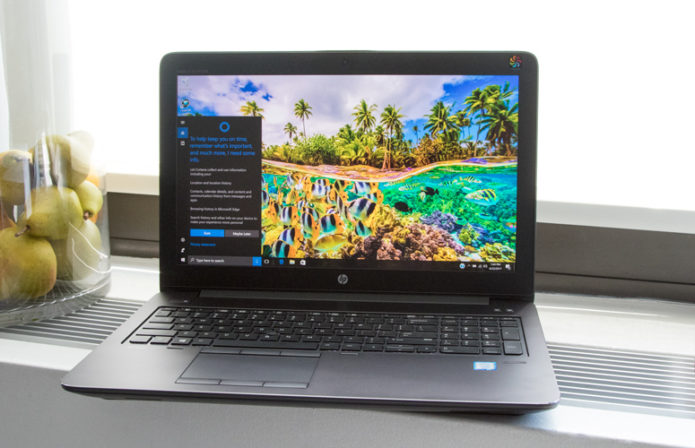 HP ZBook Studio G4 Review: A Killer Workstation Review