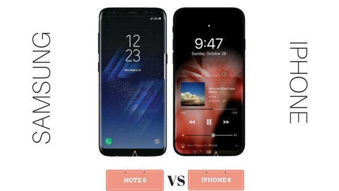 Samsung Galaxy Note 8 VS Apple iPhone 8: What We Know So Far