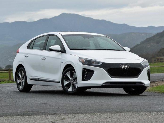 Nydn 2017 Hyundai Ioniq Electric Limited Ultimate White