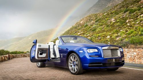 5 things you need to know about the 2017 Rolls-Royce Dawn