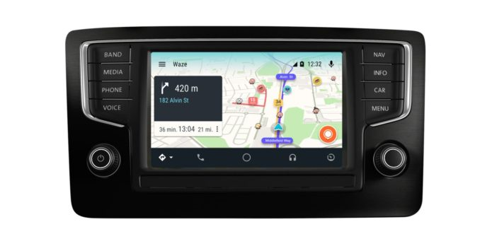 waze android auto hands on the reason for android in the car gearopen. Black Bedroom Furniture Sets. Home Design Ideas
