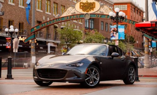 5 things you need to know about the 2017 Mazda MX-5 Miata RF