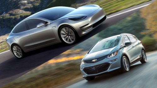 Tesla Model 3 vs. Chevrolet Bolt EV: 8 Key Differences