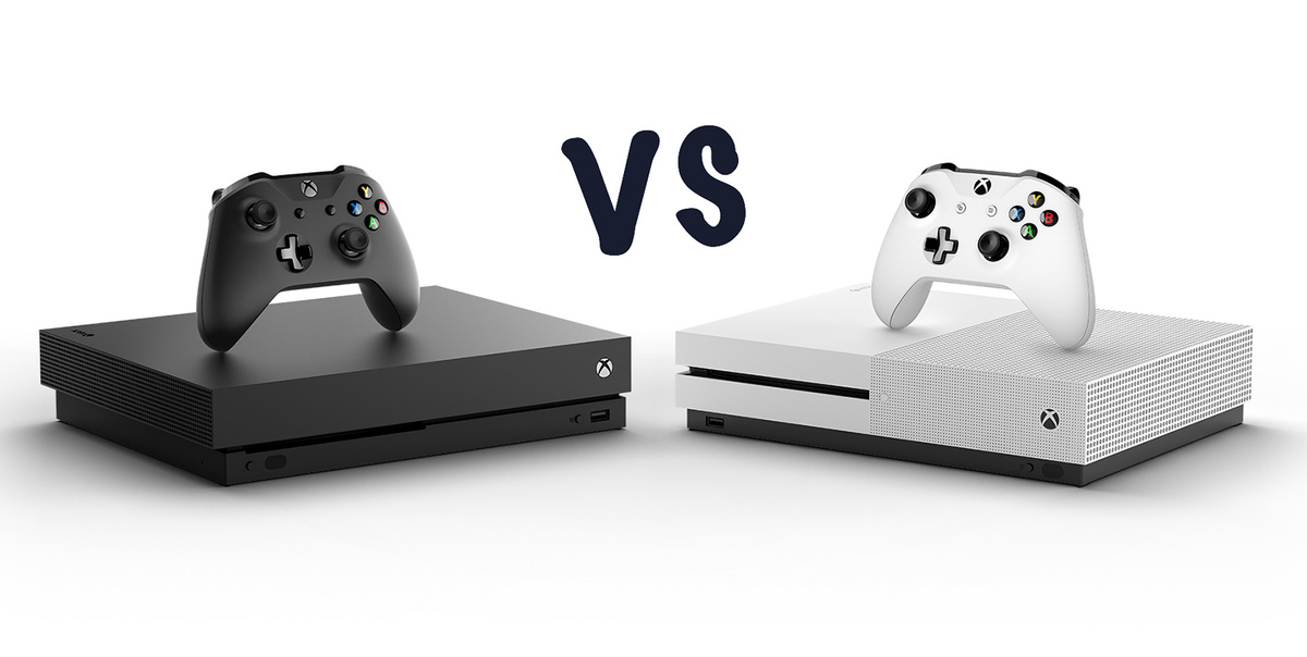 xbox one x vs xbox one s which console is best gearopen. Black Bedroom Furniture Sets. Home Design Ideas
