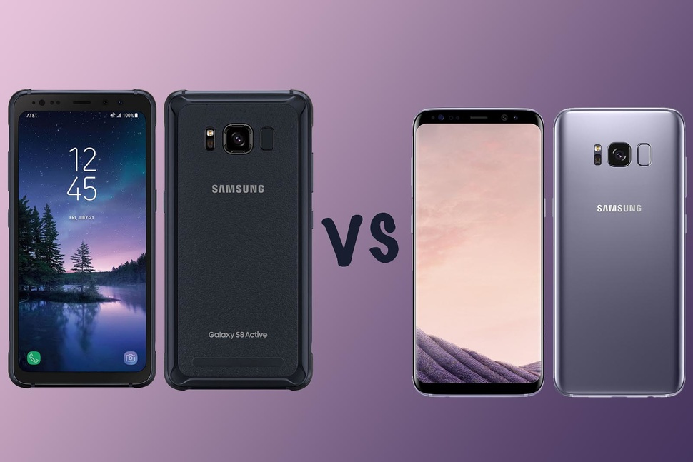 Samsung Galaxy S8 Active Vs S8 Whats The