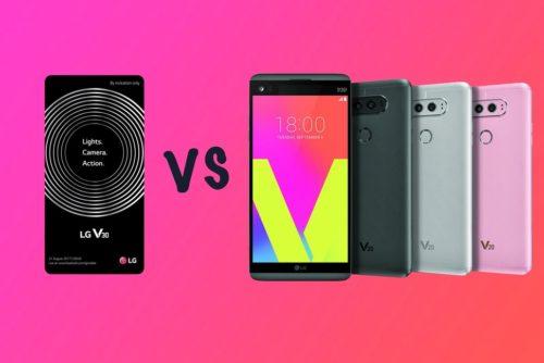 LG V30 vs LG V20: What's the rumoured difference?