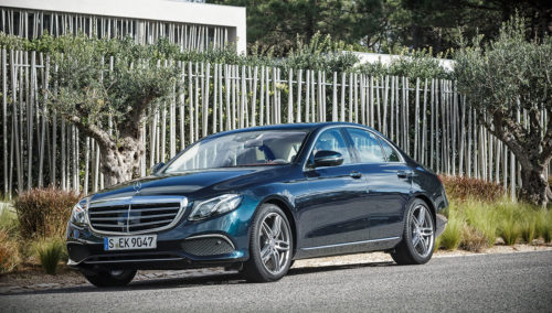 2017 Mercedes-Benz E300 Sedan Review: Borrowed excellence