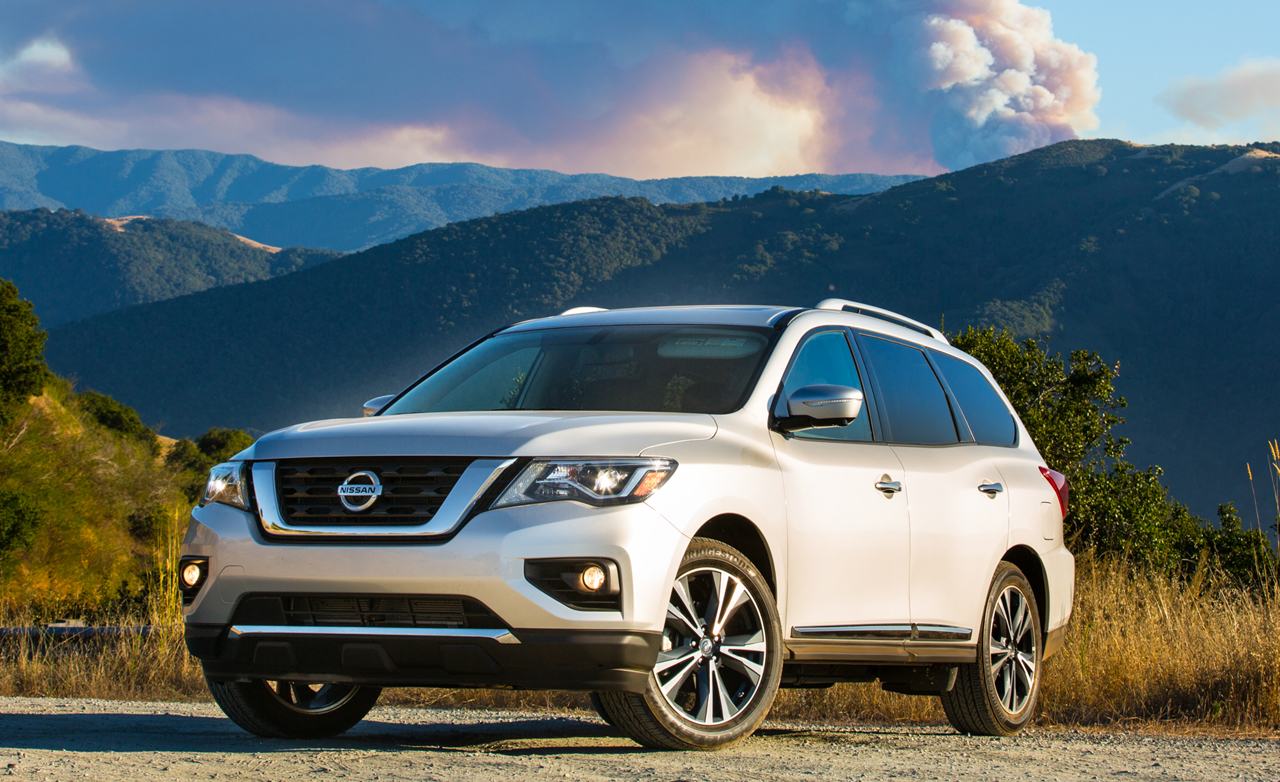 Nissan Pathfinder Review Car And Driver