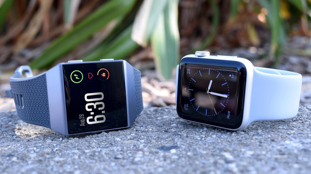Fitbit Ionic V Apple Watch Series 2 The Fitness