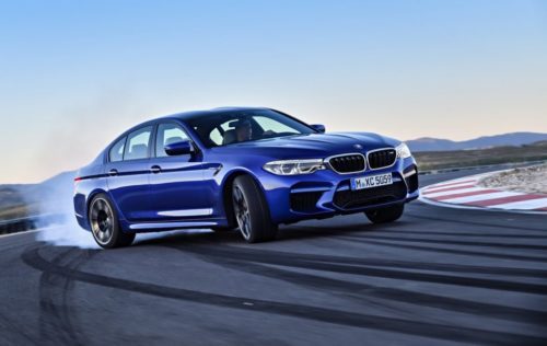 This is the 2018 BMW M5: Its AWD is super-clever