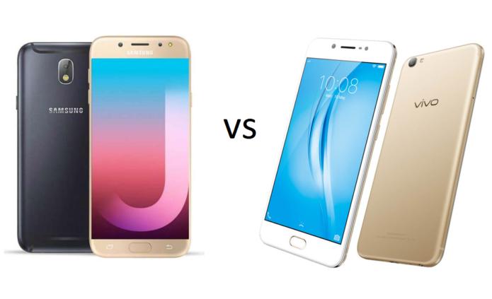 Samsung Galaxy J7 Pro vs Vivo V5s: Specs Comparison