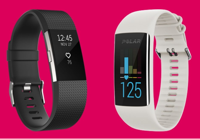 Fitbit Charge 2 v Polar A370: Fitness and wellbeing showdown